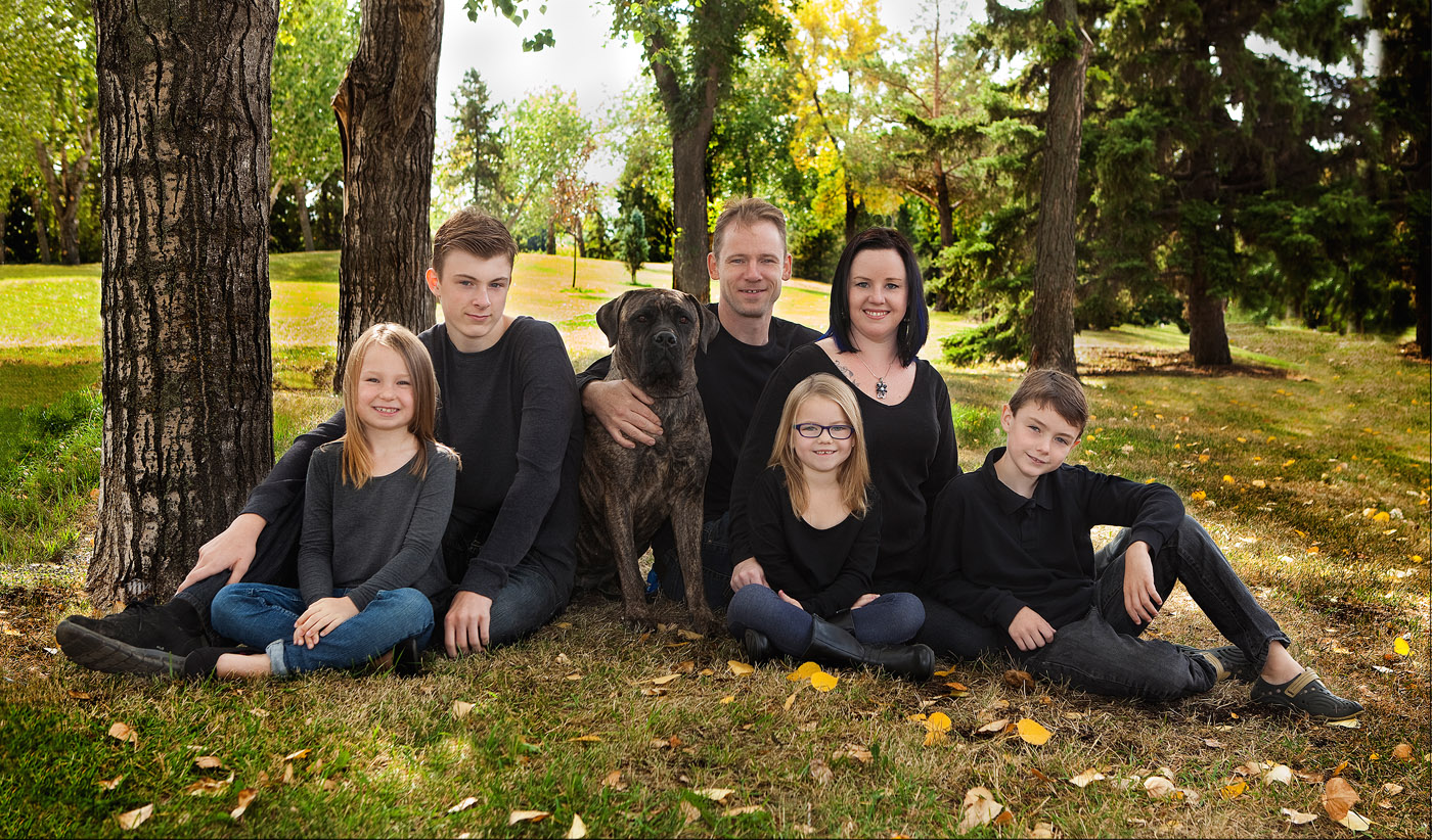 Edmonton Photographer Family Photo Sample